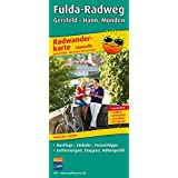 Fulda-Radweg, Gersfeld - Hann. Münden: Leporello Radtourenkarte mit Ausflugszielen, Einkehr- & Freizeittipps, wetterfest, reissfest, abwischbar, GPS-genau. 1:50000
