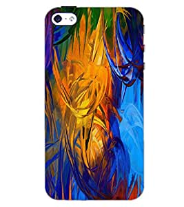PrintDhaba PAINT ART D-6494 Back Case Cover for APPLE IPHONE 4S (Multi-Coloured)