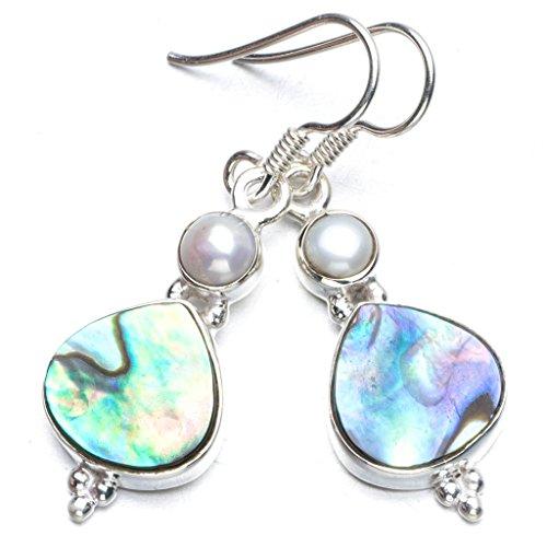 stargems-tm-naturel-abalone-coque-et-riviere-pearl-boho-style-argent-sterling-925-boucles-doreilles-