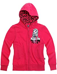 Official Monster High Sweat jacket hoodie with hood by Monster High | Main Picture to Illustrate Different styles
