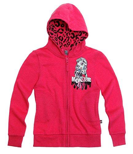 Producto Oficial de Monster High el Sudor con Capucha Chaqueta de hípica para niños Sudadera con Capucha de Monster High | para ilustrar Estilos Diferentes de Fotos de Madera de Principal