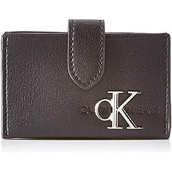 Calvin Klein CKJ MONOGRAM HW ACCORDION CCMujerBolsos bandoleraNegro (Black) 6x4x10 centimeters (B x H x T)