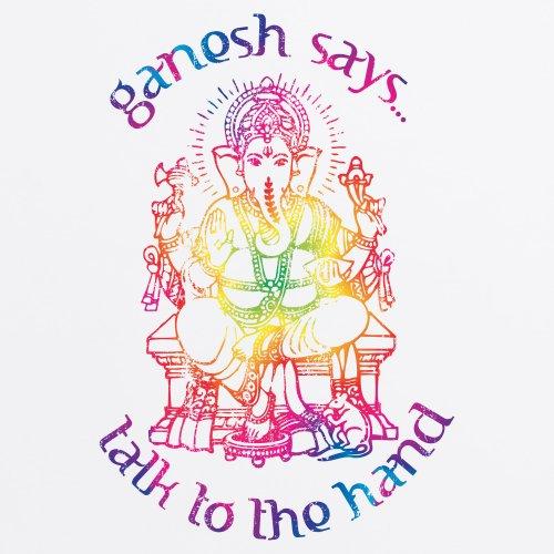 Ganesh Spectrum T-Shirt, Herren Wei