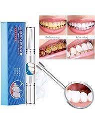 Kinbelle Teeth Whitening Gel Pen Quick Remove Stain Yellow Teeth Whitening Cleaning Dental White Pen