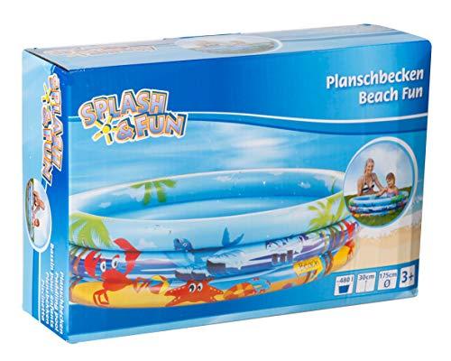 Splash & Fun Planschbecken Beach Fun 175cm Preisvergleich