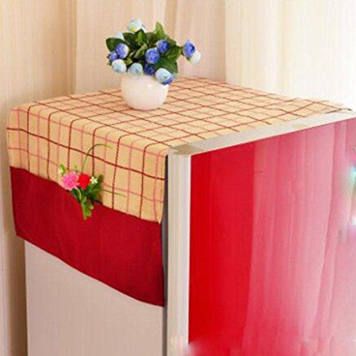Asciugamano di cotone antipolvere frigorifero biancheria per la casa copertura , a