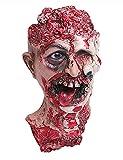 ShallGood Masque Adulte En Latex Pour Déguisement Halloween D'Horreur Party Carnaval Masques Mascarade Momie Monstre Fille Lapin Pitre Animal Pâques #13 One Size