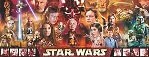 Puzzle 1000 pieces Panorama, The Saga Star Wars