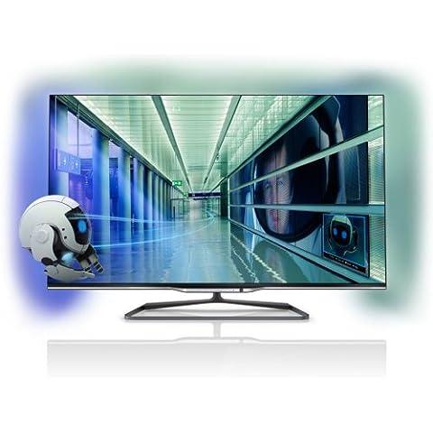 Philips 55PFL7008K/12 140 cm (55 Zoll) Fernseher (Full HD, Triple Tuner, 3D, Smart TV)