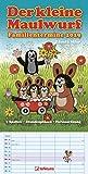 Der kleine Maulwurf 2019 - Kalender für Kinder, Ferienordnung 5 Spalten, Stundenpläne  -  23 x 45,5 cm