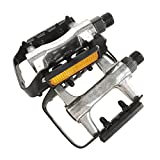 VP PE050 Bike Pedals Alloy Body with Steel Cage 9/16 Inch -...