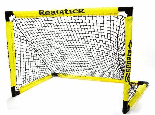 """REALSTICK   Faltbares Floorball und Unihockey Tor -""""Fast Click"""" - aus Kunststoff zum zusammenklappen"""