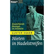 Nieten in Nadelstreifen. Großdruck. Deutschlands Manager im Zwielicht.