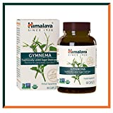 Himalaya Gymnema Sylvester 60 capsule, Distrugge lo zucchero e ottiene un sano metabolismo del glucosio 700 mg, 1 mesi di fornitura (Gymnema)