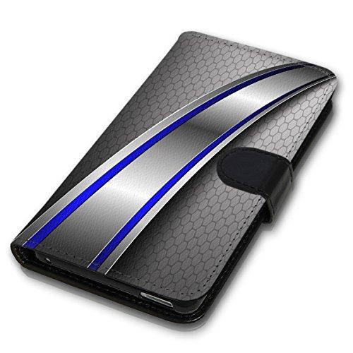 Wallet Book Style Flip Handy Tasche Case Schutz Hülle Schale Motiv Etui für Apple iPhone 4 / 4S - Variante UMV16 Design12 Design 4
