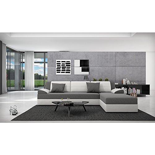 Innocent Sofa mit Schlaffunktion Kunstleder und Sitzfläche Textil Rasasy