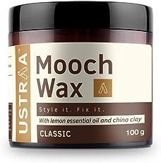 Ustraa Mooch Wax Grooming for men- 100 g