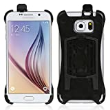 Wicked Chili Halteschale für Samsung Galaxy S6 SM-G920F für KFZ Scheibenhalterung, KFZ Lüfterhalterung Oder Fahrradhalterung (Passgenau, Made in Germany, schwarz)