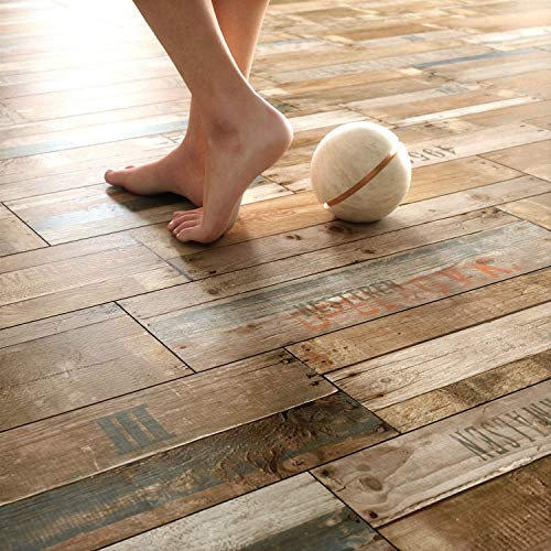 NEWROOM Laminatboden 8mm Laminat Bodenbelag I Fußbodenheizung geeignet I 24,45 pro m² I Einzelpaket = 2,03m² I Bad bedingt geeignet Rustikal Braun Beige (Rustikal Laminat)