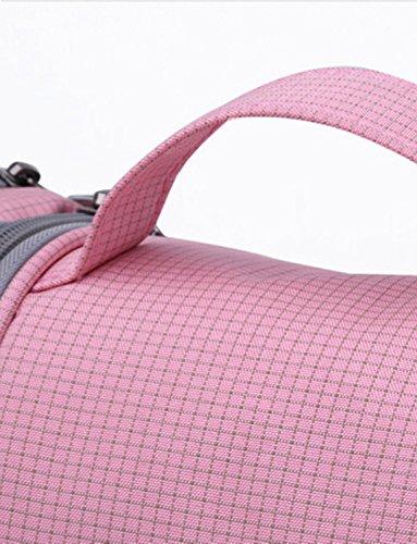DYSS , Damen Herren Kofferorganizer rosa rose