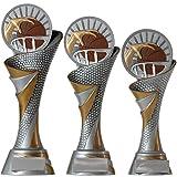 KDS® FG Pokal M Trophäe Basketball mit Emblem 70 mm aus Resin Kunstharz Massiv ca. 24,5 cm Hoch