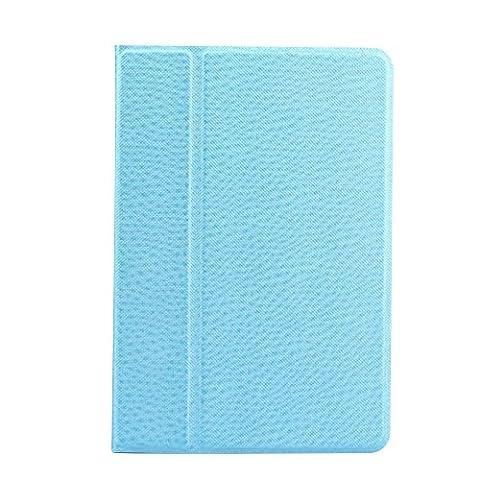 Cuitan Intelligente Rotation Coque Étui pour iPad Mini 3, Pure Couleur Design PU en cuir Flip Housse avec Sommeil / Réveil Automatique Fonction et Support Fonction Smart Housse de protection Protecteur Etui Case Cover pour Apple iPad Mini 3 - Bleu