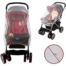 Insektenschutz, ToWinle Universal Moskitonetz für Kinderwagen Babyschale und Reisebett
