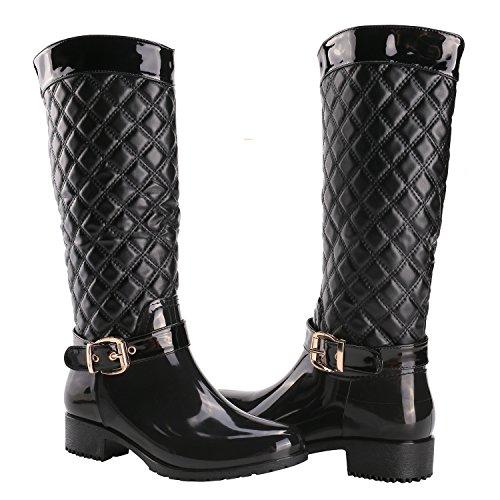 Alexis Leory Classico, Stivali da pioggia donna Nero