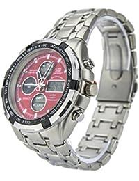 Reloj Eve Mon Crois Fondo Rojo