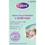 Calpol Soothe & Care Vapour Plug & Nightlight Refills – 5 Pads