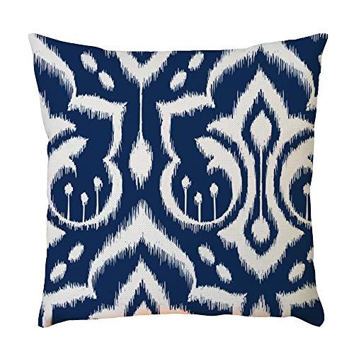 Clode Home auto letto divano decorativo lettera cuscino caso cuscino cover (D)