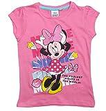 Minnie Mouse T-Shirt Shirt 92 98 104 110 116 122 128 Mädchen Kurzarmshirt Maus Kollektion 2017 Rosa