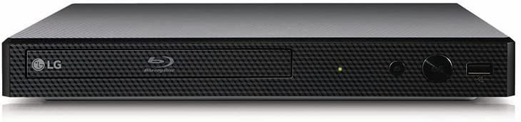 LG BP350 Blu-ray Player (WLAN, Smart TV, DLNA, Upscaler 1080p, LAN, USB) schwarz