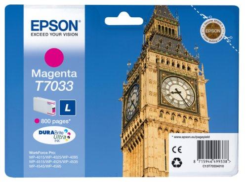 Epson T7033 Cartouche d'encre d'origine Magenta
