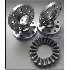 X-Parts 1039001 Adapterscheiben 5x100 auf 5x112 15mm mit Gutachten 4 Stück
