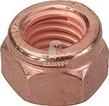 Kupfermutter Auspuff 14440 M10 SW17 50 Stück