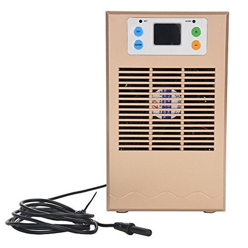 Jacksking Kühlmaschine, 70W Aquarium-Wasser-Kühler-Aquarium-Kühlanlage-Wasserkühlungs-Heizungs-Kühlmaschine für für Hauptwohnheim(70W)