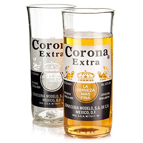 recycled-corona-extra-beer-bottle-glasses-116oz-330ml-pack-of-2-upcycled-corona-beer-bottles-corona-