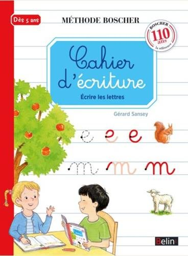 Methode Boscher/Cahier D'ecriture par Paul Boscher