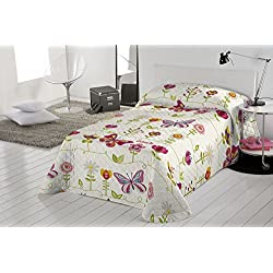 Valentina Colcha Two Butterflies Multicolor Cama 90 (180 x 260 cm)