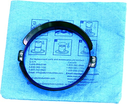 Stanley 20–1100blau Tuch wiederverwendbar Filter mit Klemmring für 3und 5Gallonen Nass/Trockensauger