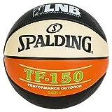 SPALDING - LNB TF150 SZ.5 (83-414Z) - Ballons de basket NBA - Touché et Contrôle améliorés - Matière Durable - noir/orange/blanc