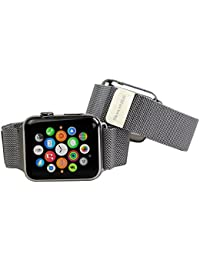 Snugg™ Apple Watch Milanese Loop Stainless Steel Strap with Lifetime Guarantee - 42mm Wrist Strap for the Apple Watch