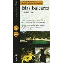 Mapa ecoturístico de las Islas Baleares (Castellano / Inglés): Balearic Islands (Descubrir la Naturaleza)