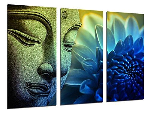 Cuadro Moderno Fotografico Buda Buddha, Relajacion, Relax, Zen, 97 x 62 cm ref. 26357