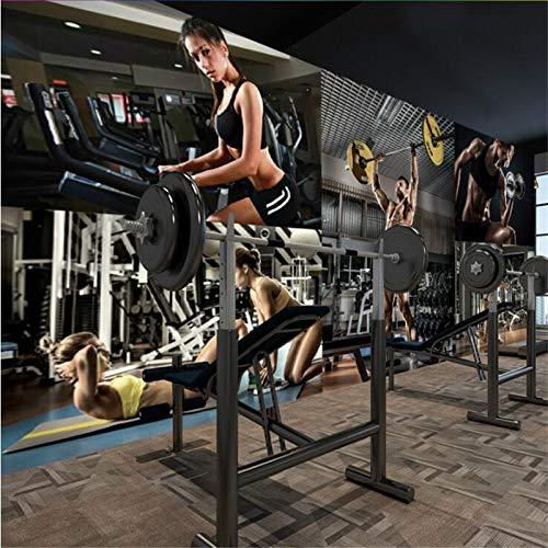 SK-YBB Benutzerdefinierte tapete papel de parede 3d Persönlichkeit Kreative Schönheit Gym Yoga Cafe American Wandbild papel tapiz