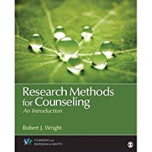 [(Research Methods for Counseling: An Introduction)] [ By (author) Robert J. Wright ] [April, 2013]