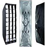 Linkstar QSSX-30150HC 30 x 150 cm pliable Striplight softbox avec Honeycomb