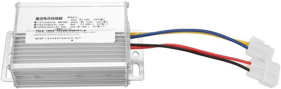 Convertisseur Abaisseur de Tension DC Convertisseur 36V-72V /à 12V Convertisseur Buck Module dAlimentation 4 fils