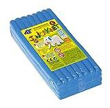 Feuchtmann Spielwaren 628.0305-8 - Juniorknet Knete Jumbo Pack, 500 g, blau